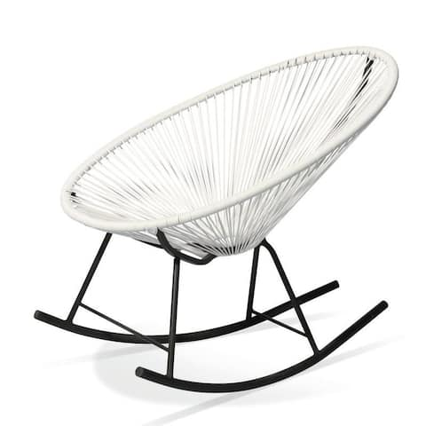 Acapulco Indoor / Outdoor Rocking Chair in White
