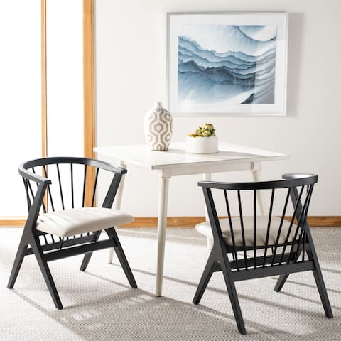 """Safavieh Noah Spindle Dining Chair (Set of 2) - 19"""" x 18"""" x 19"""""""
