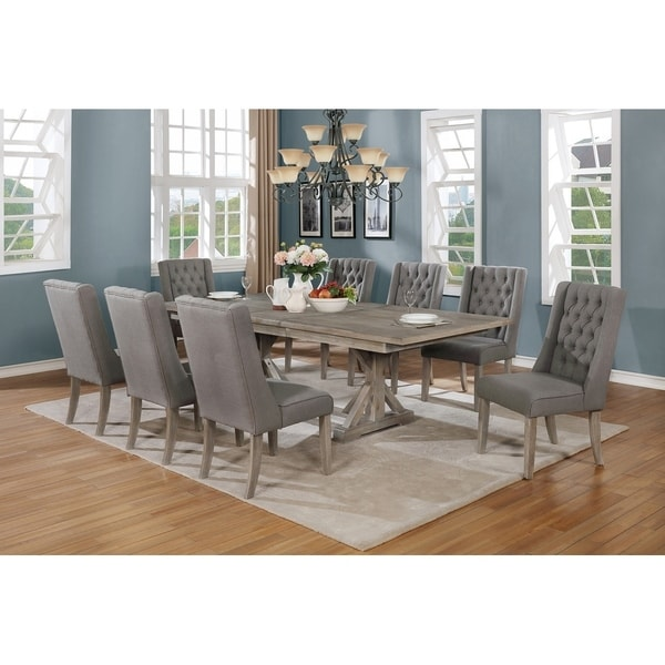 Quality Dining Sets: Shop Best Quality Furniture 9-Piece Dining Set
