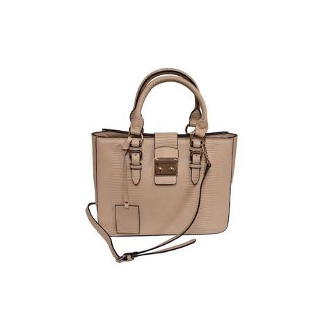 Donna Bella Designs Elly Leather Shoulder Bag, Camel