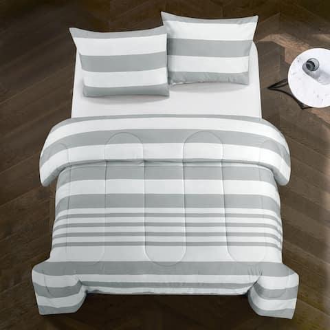 Porch & Den Salome Rugby Stripe Comforter Set