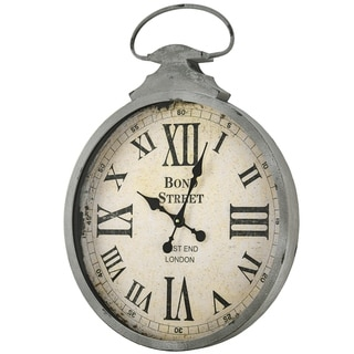 Bond Street West End London Antique Wall Clock - N/A