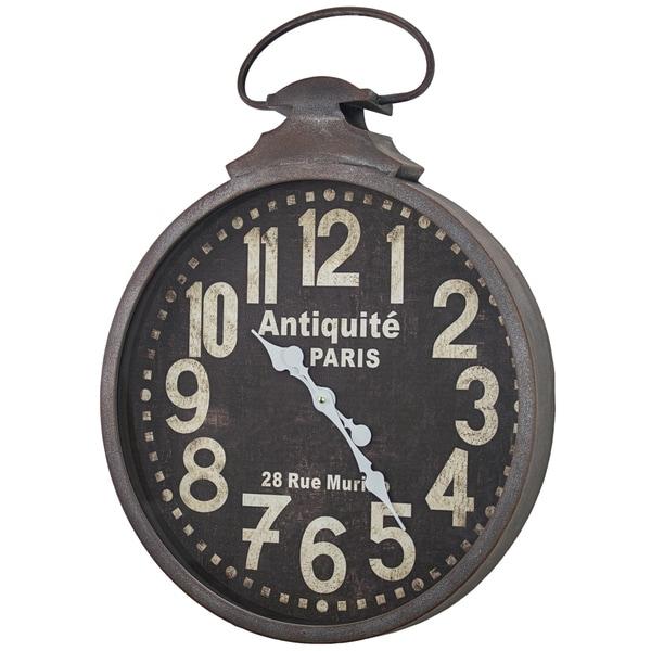 Antiquite De Paris 29 Rue Murillo Wall Clock - N/A