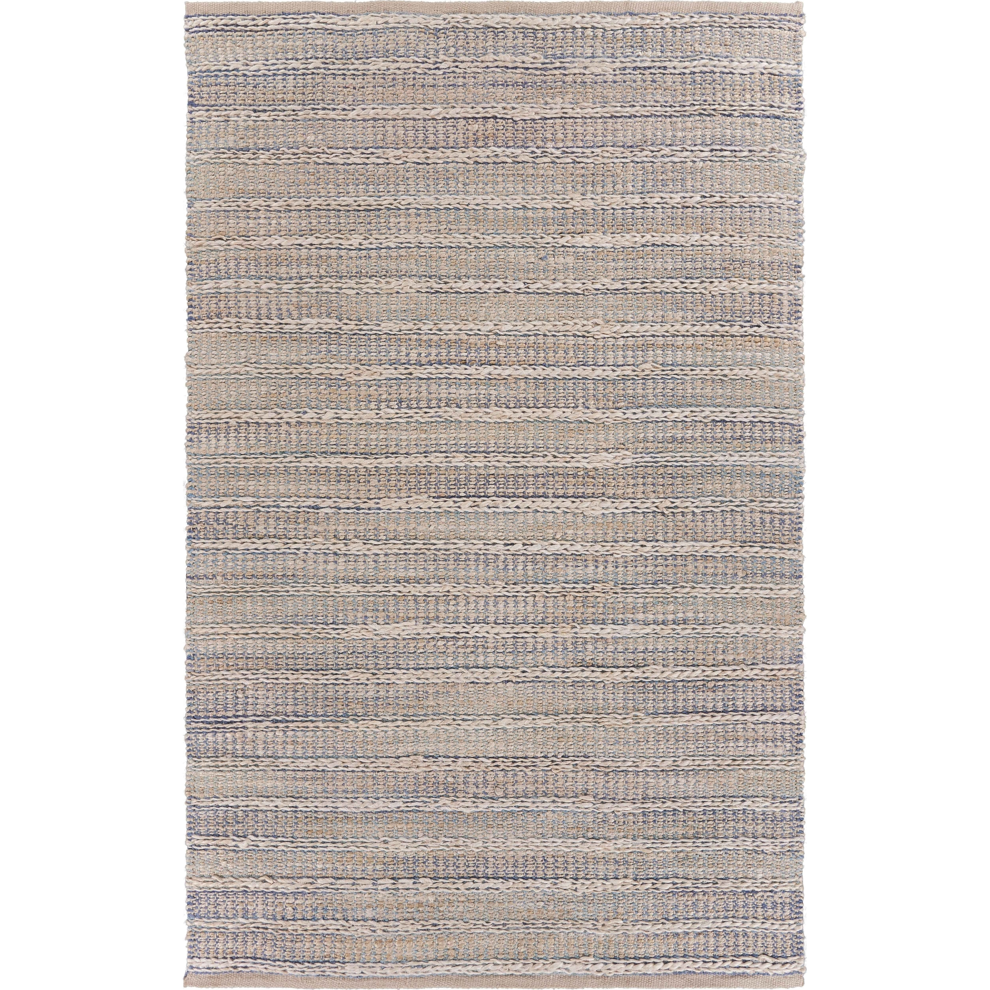 Shop Lr Home Touch Of Sky Jute Area Rug 9 X 12 9 X 12 Overstock 28503516