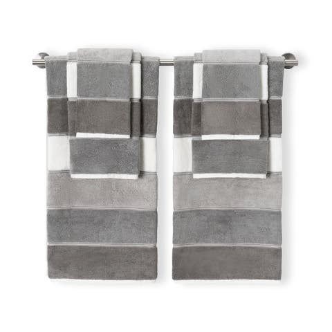 Maya Grey 6pc Set Towel Set