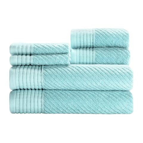Beacon 6pc Towel Set - Pastel Turquoise