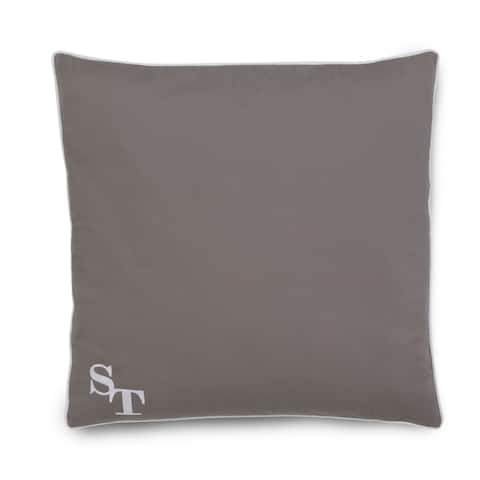 Southern Tide Starboard Nautical Gray Decorative Pillow