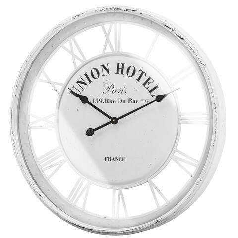 The Gray Barn Union Hotel Paris 159 Rue Du Bac Wall Clock