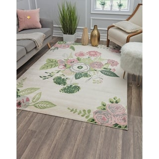 Porch & Den Calabash Rose Garden Area Rug