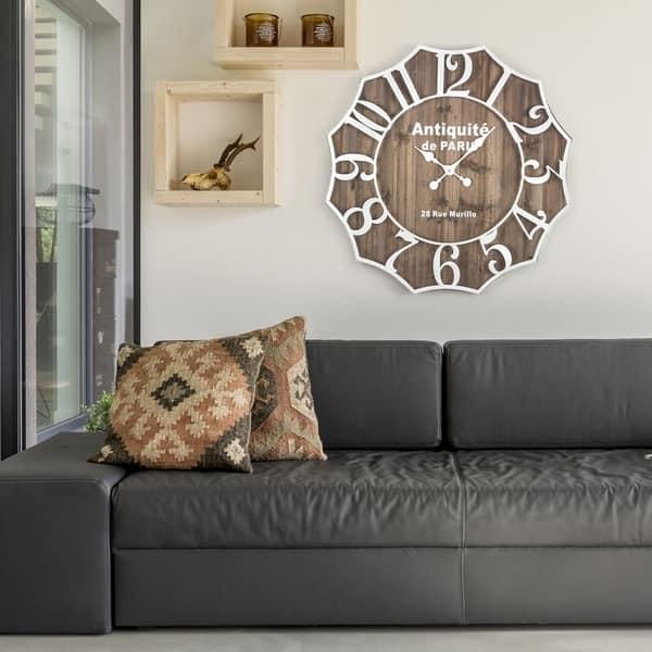 Antiquite De Paris 28 Rue Murillo Wall Clock Overstock 28503660