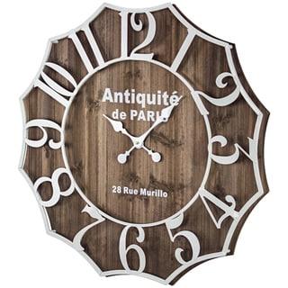 Antiquite de Paris 28 Rue Murillo Wall Clock - N/A