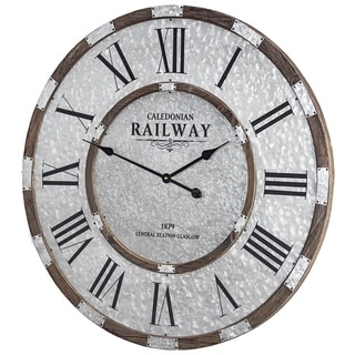 Caledonian Railway 1879 Central Station Wall Clock - N/A