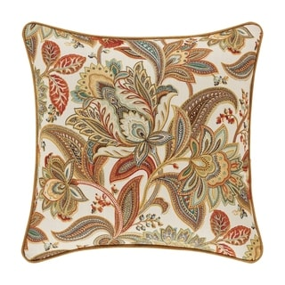 Five Queens Court August 18 Inch Square Decorative Throw Pillow