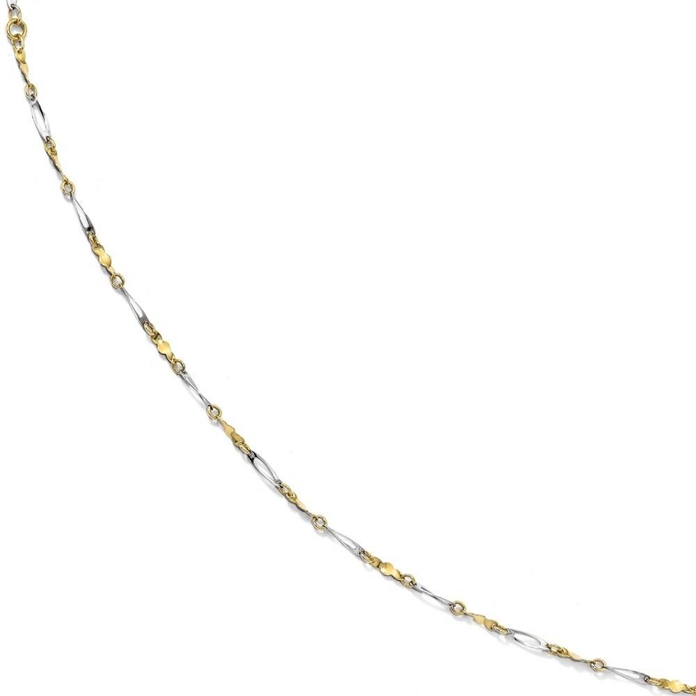 10 in Fancy Knot-Link Anklet