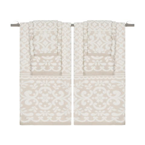Emma Ivory Sesame 6Pc Set Towel Set