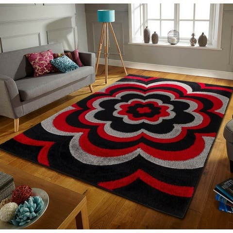 Buy Red, 8\' x 10\', Living Room Area Rugs Online at Overstock | Our ...