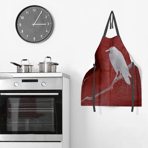 Crow and Willow Painting Apron - 27 x 30