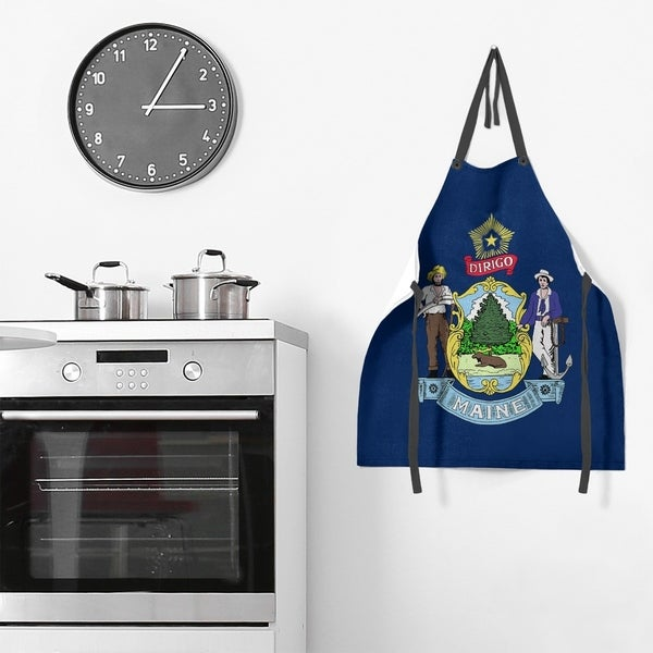 Maine Flag Apron - 27 x 30. Opens flyout.
