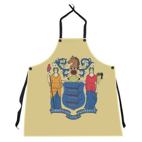 New Jersey Flag Apron - 27 x 30