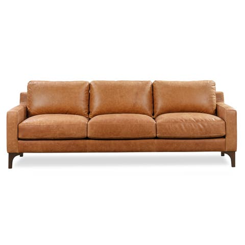 Buy Leather Sectional Sofas Online at Overstock | Our Best Living ...