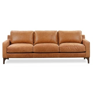 Link to Poly and Bark Sorrento Leather Sofa Similar Items in Living Room Furniture