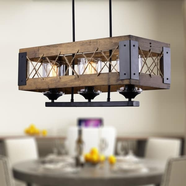 Shop The Gray Barn Flying Turtle 3-light Distressed Wood