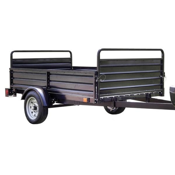 Shop Dk2 5ft X 7ft Utility Trailer Kit Black Mmt5x7