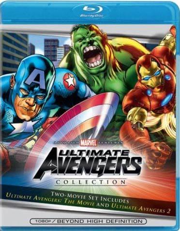 Ultimate Avengers 1 & 2 (Blu-ray Disc)
