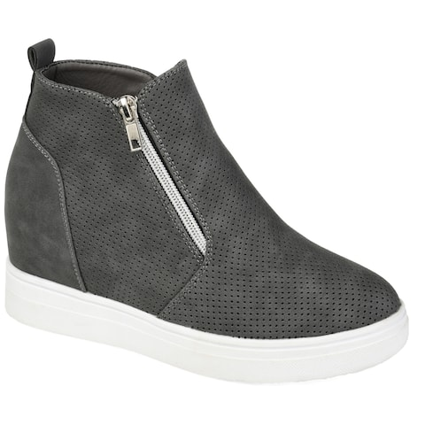 Journee Collection Women's Phoebe Sneaker Wedge