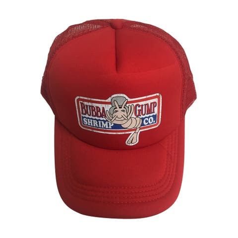 Bubba Gump Shrimp Co. Red Trucker Hat