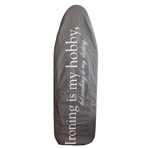 Sunbeam Destiny Cotton Ironing Board Cover, Grey