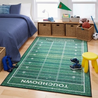 Mohawk Prismatic Football Yards Area Rug