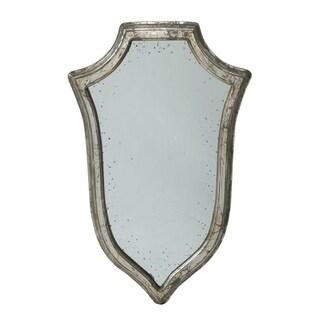 Empire 32-inch Antique Silver Large Crest Mirror
