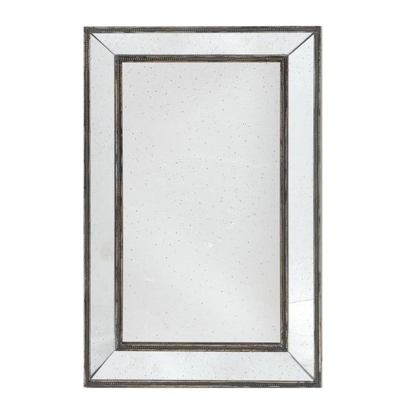 Brown 43-inch Rectangular Mirror