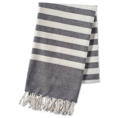 Porch & Den Ridgemoor Striped Fouta Towel