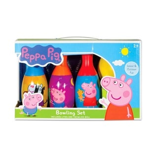 Peppa Pig Bowling Set - Indoor/Outdoor