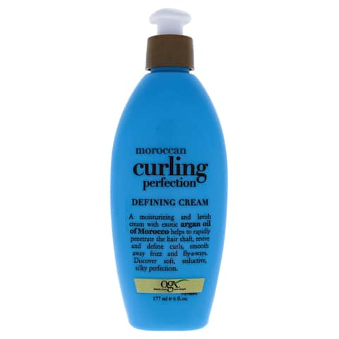 Moroccan Curling Perfection Defining Cream Organix for Unisex 6-ounce Cream