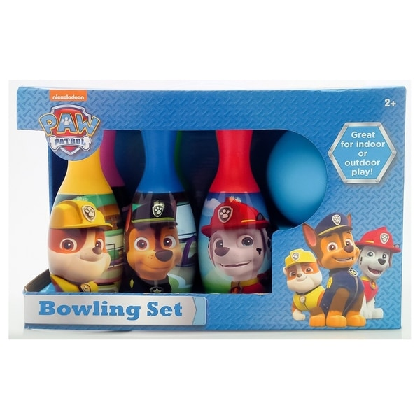 Nickelodeon Paw Patrol Bowling Set - Indoor/Outdoor