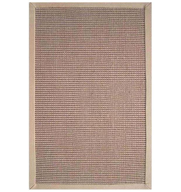 Hand-woven Sisal Beige Rug (5' x 8')