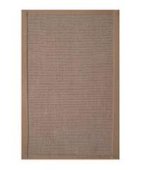 Hand-woven Sisal Khaki Rug (5' x 8')