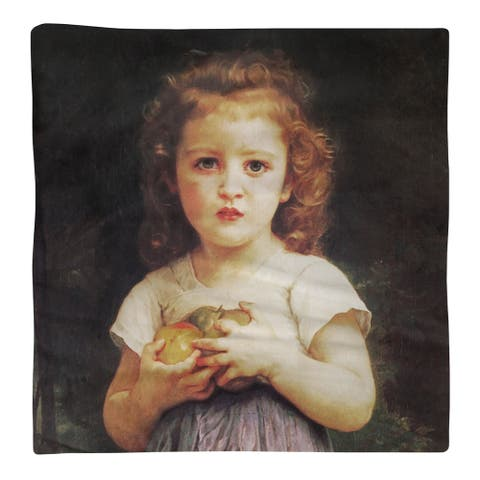Little Girl with Apples Napkin