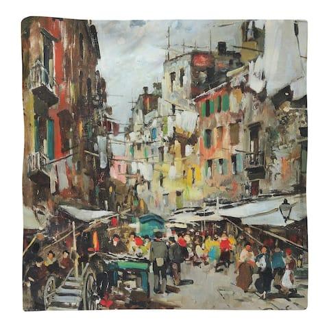 Market in Naples Napkin