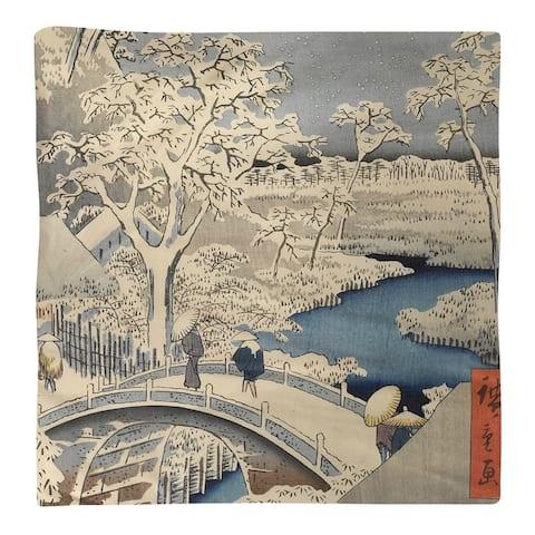 Meguro Drum Bridge and Sunset Hill Napkin