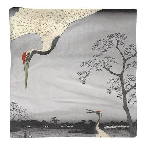 Japanese Cranes Napkin