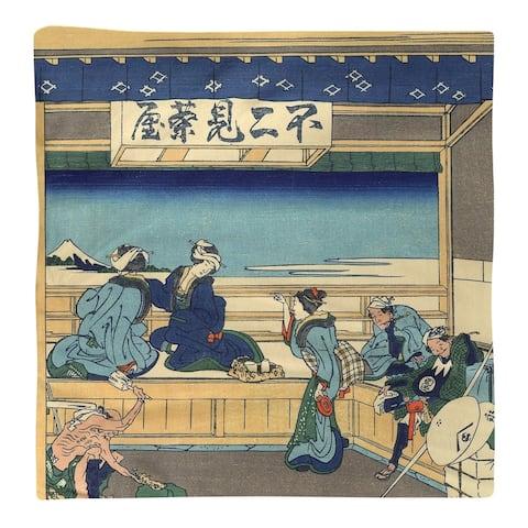 Yoshida at Tokaido Napkin