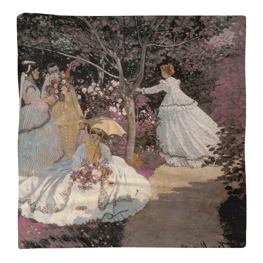 Shop Women in the Garden Napkin - Overstock - 28523281