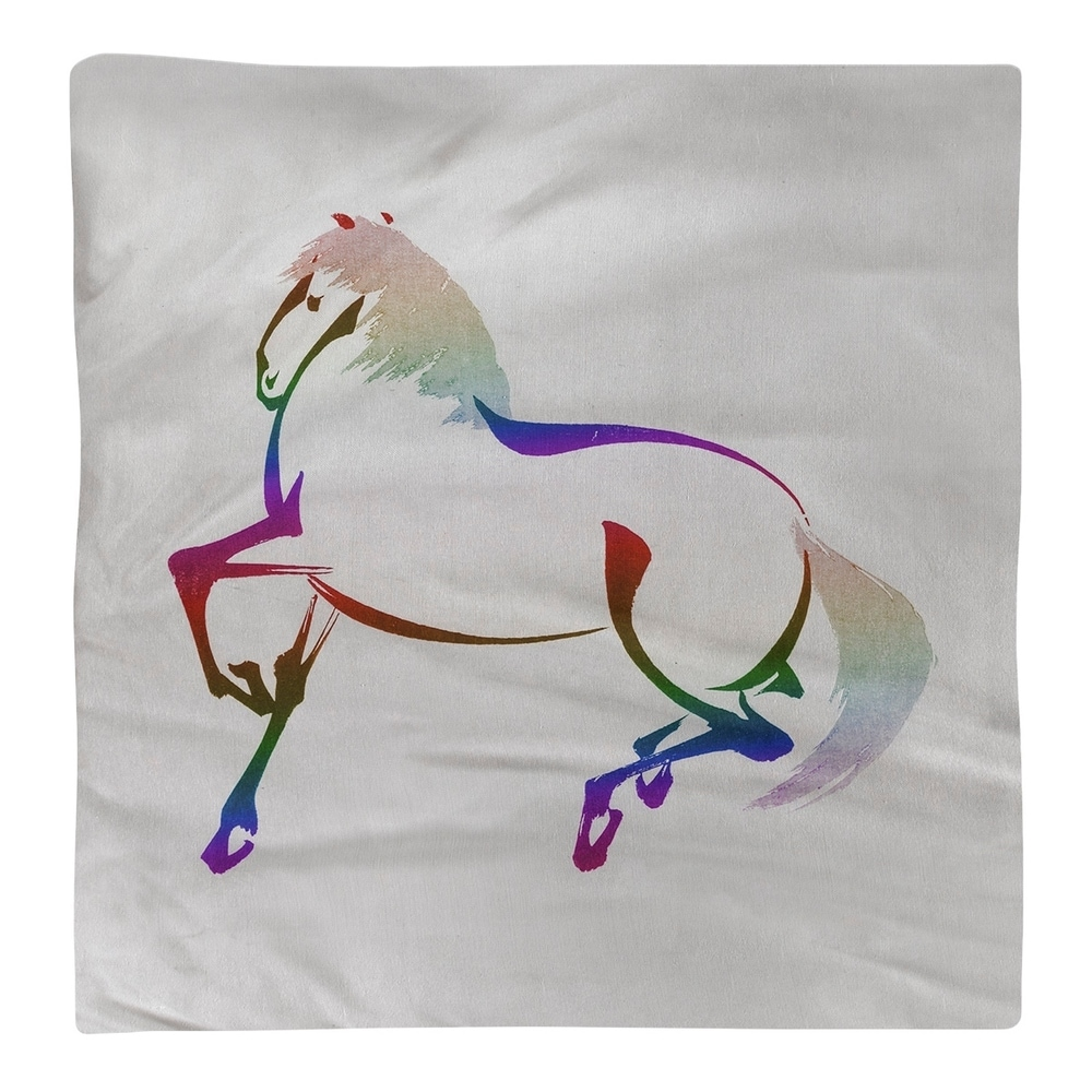 Shop Japanese Vintage Watercolor Horse Napkin - Overstock - 28523324