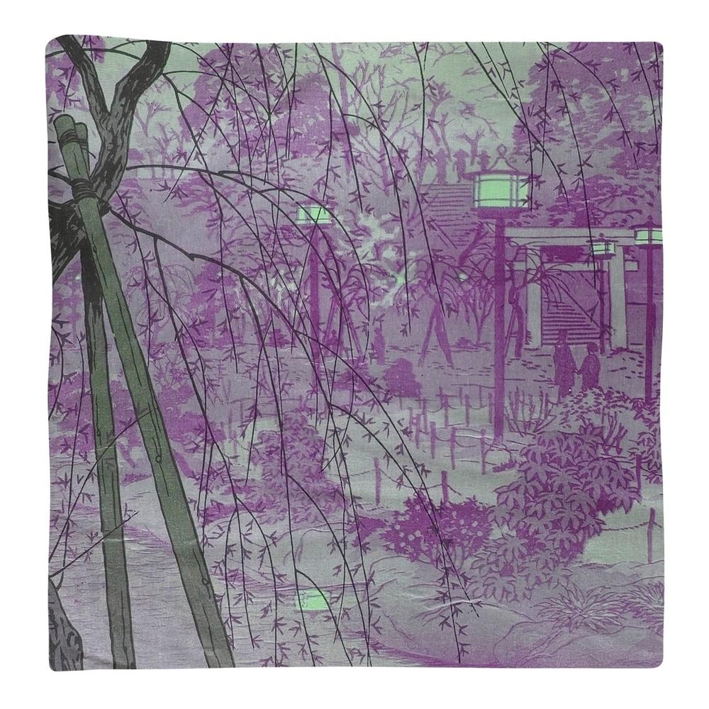 Shop Misty Evening at Shinobazu Pond Napkin - Overstock - 28523328