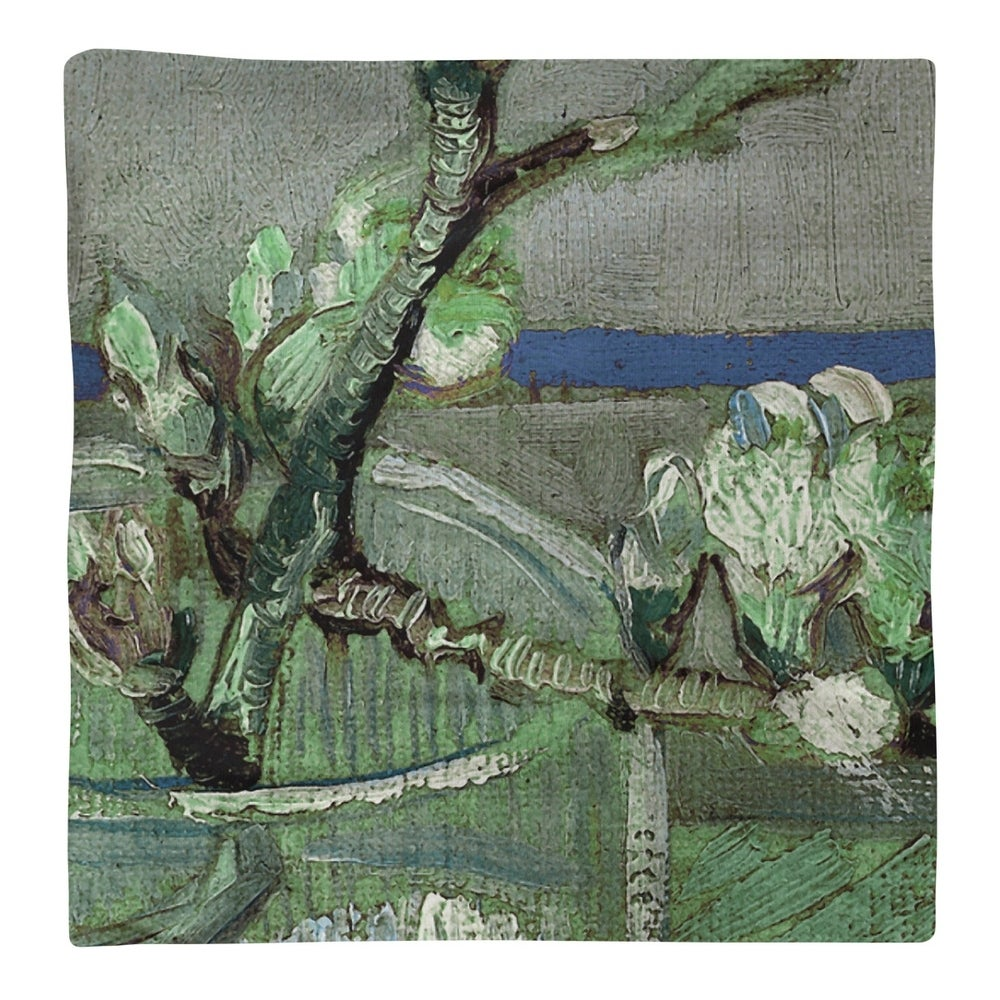 Shop Blossoming Almond Branch in a Glass Napkin - Overstock - 28523335