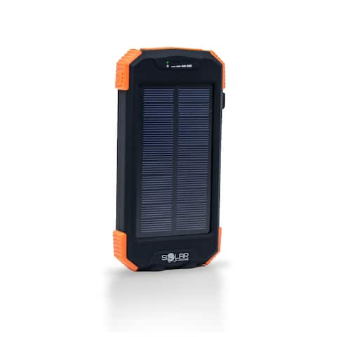 Solar Juice Touch Solar Powered Battery Pack with Qi Charging Pad